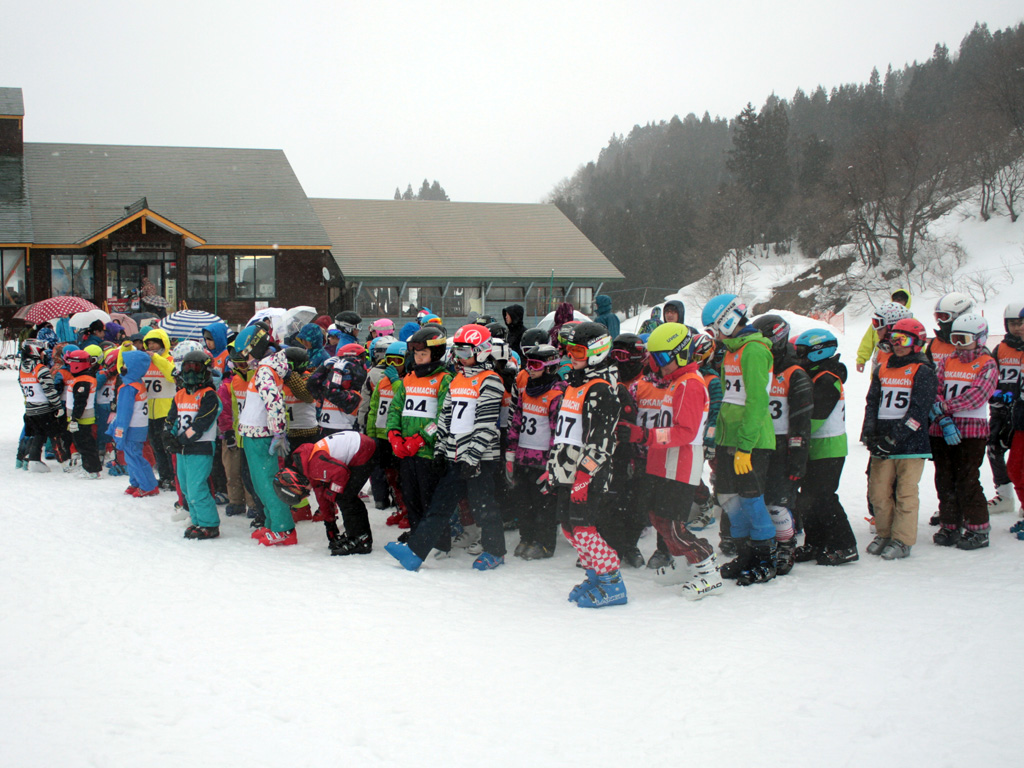 ファミリー 場 松代 スキー